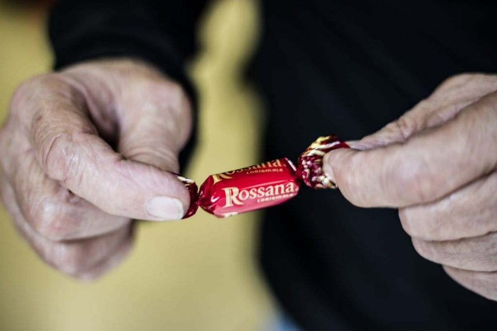 Rossana candies