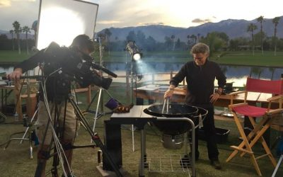 Steven Raichlen grills Italy. The king of barbecue on filming with Gambero Rosso