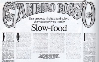 30 years ago Gambero Rosso published the Slow Food Manifesto. Here is the complete copy