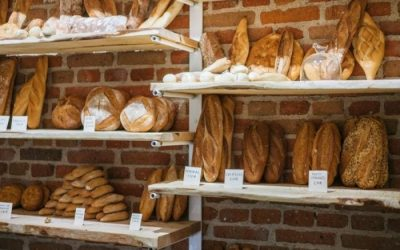 A shop in Madrid. Casabase: the best of Made in Italy plus artisanal Spanish bread