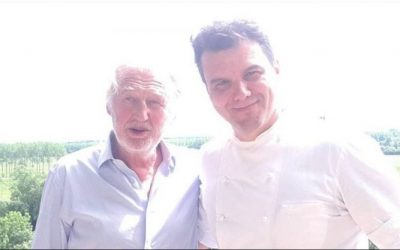 Marco Garfagnini and Pierre Gagnaire open a creative Italian restaurant in Paris