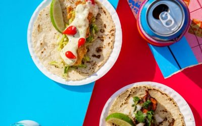 Tacocina, Mexican food in Brooklyn. Danny Meyer and the area's urban redevelopment project