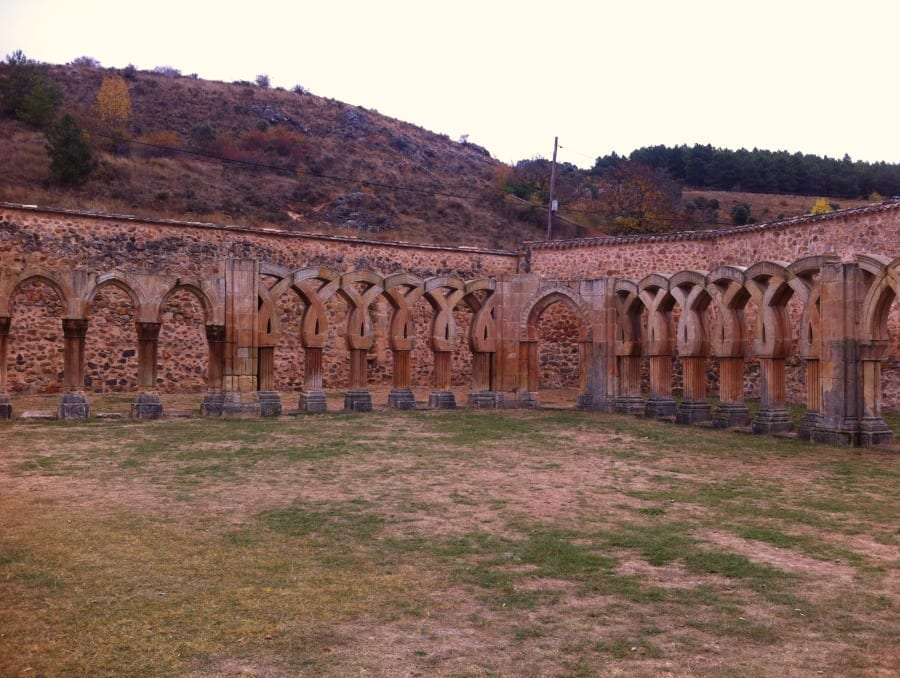 Monastero di San Juan del Duero, chiostro