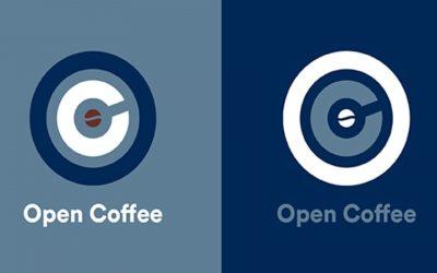 Studio Bellissimo designs the new Lavazza logo for Open Coffee