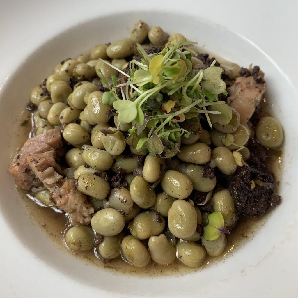 Fava beans and Butifarra