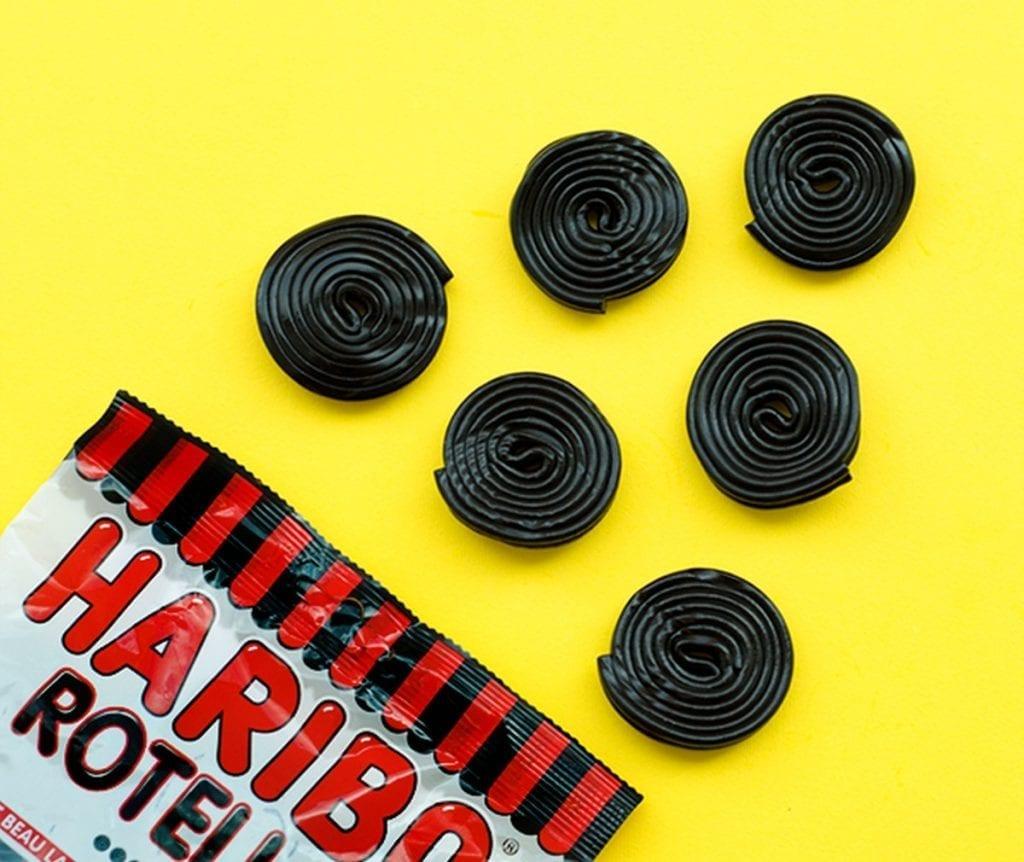 Haribo spirals