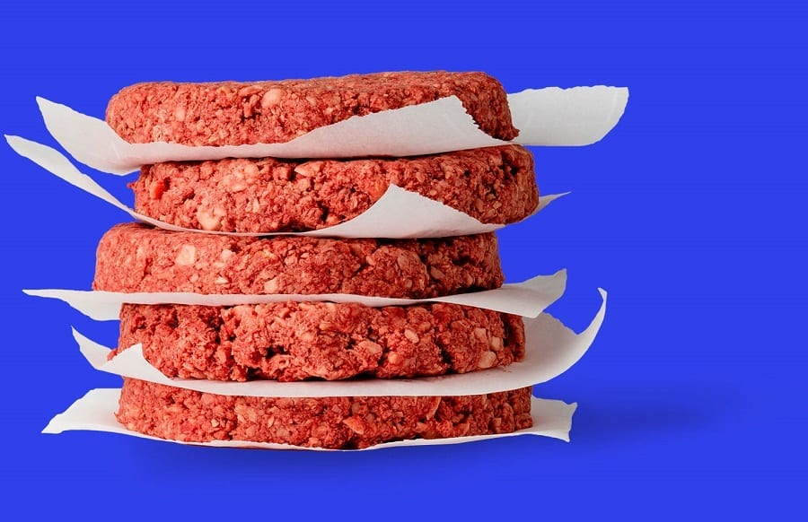 Plant-based burgers by Impossible burger