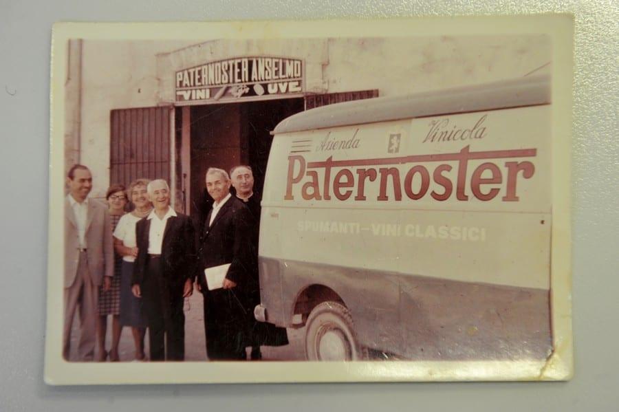 Foto d'epoca dell'azienda Paternoster