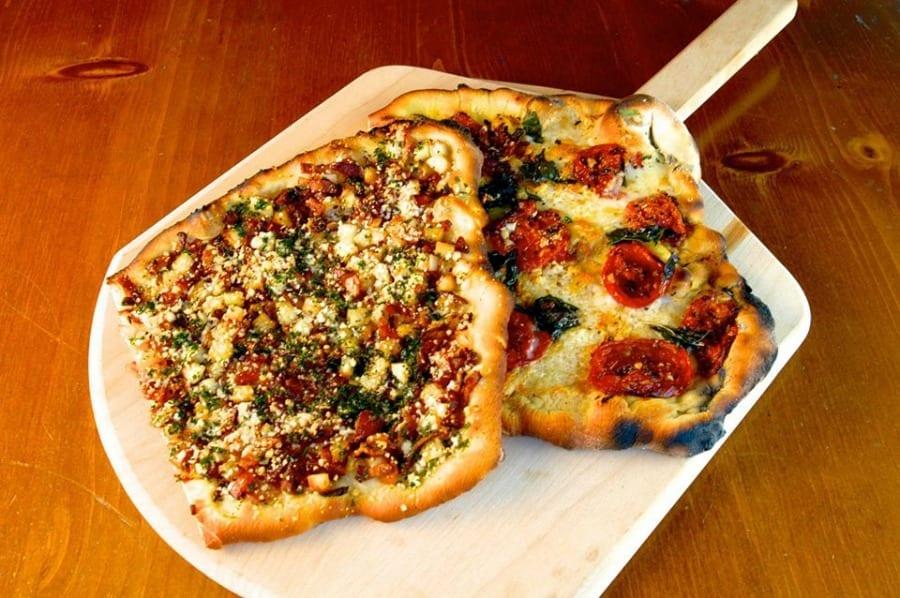 pizza grigliata
