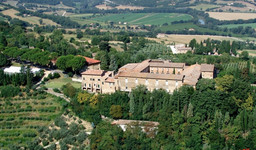 In Todi there's the oldest agricultural school in Italy, and it's a model of modernity
