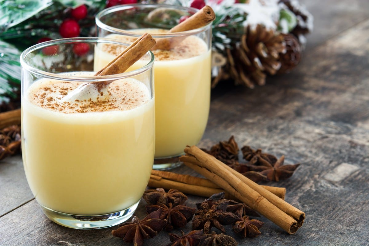 Find out more about eggnog