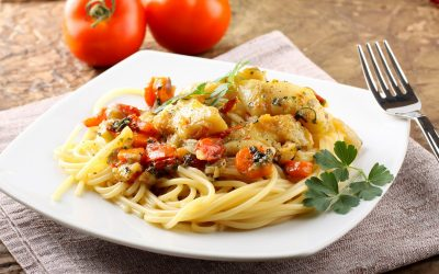 Find out more about linguine with cod
