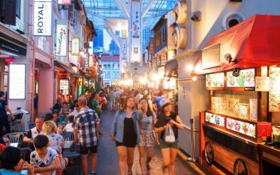 Find out more about Singapore street food