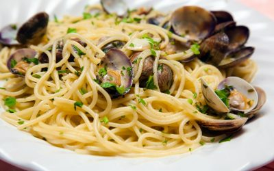 Find out more about spaghetti with clams