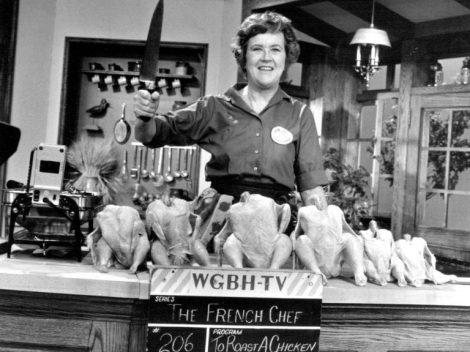 Find out more about Julia Child's TV series