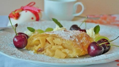 Find out more about apple strudel