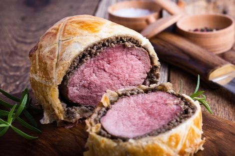 Find out more about beef Wellington