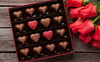 Find out more about chocolate on Valentine's day