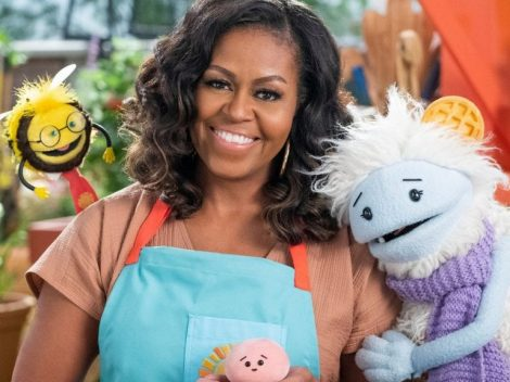 Find out more about Waffles+Mochi series by Michelle Obama