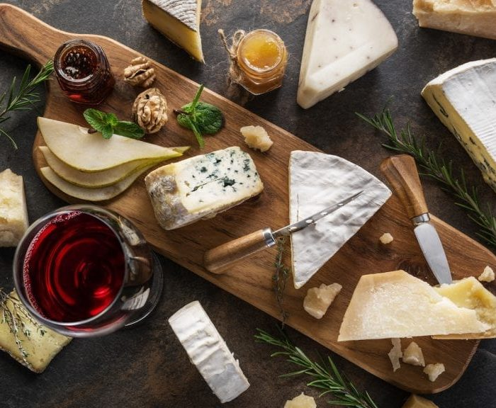 Find out more about cheese and wine pairing