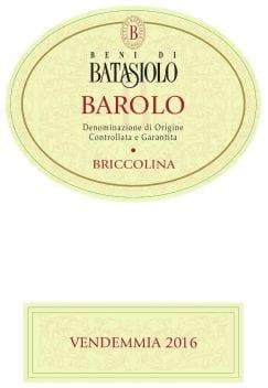 Barolo Briccolina 2016