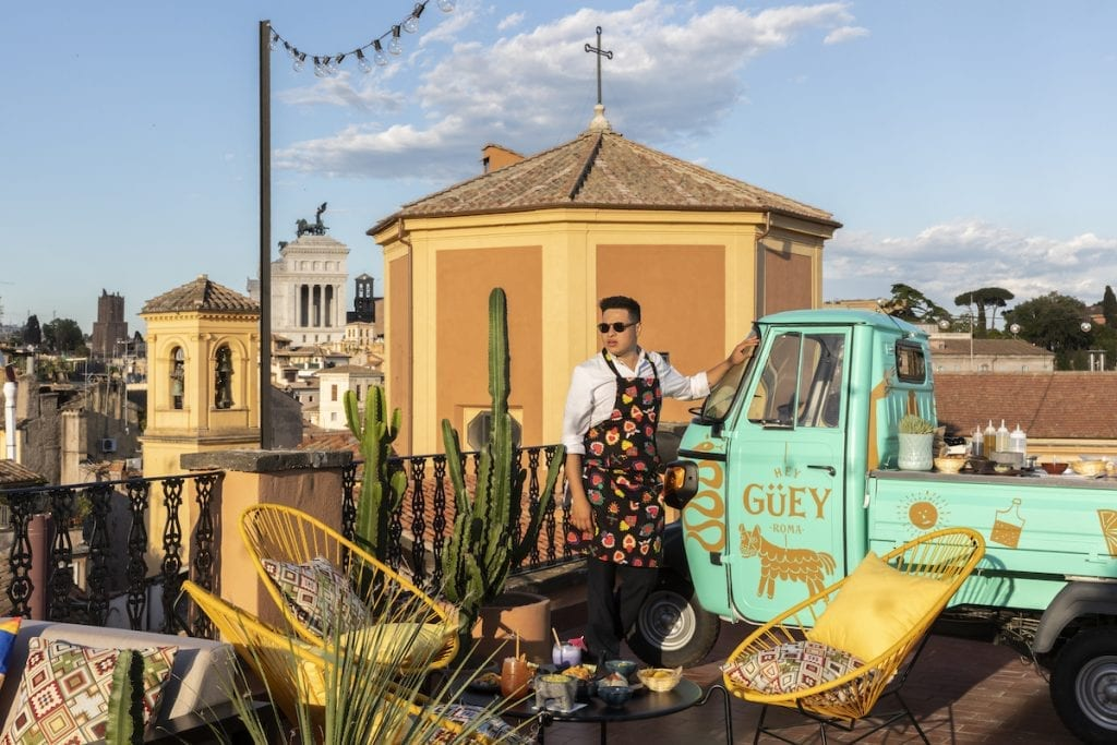 Find out more about the Hey Güey terrace