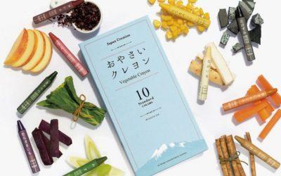Oyasai Crayons: Japanese crayons made with food waste scraps