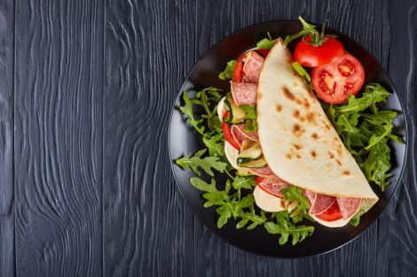 Find out more about piadina, the Romagna-style flatbread
